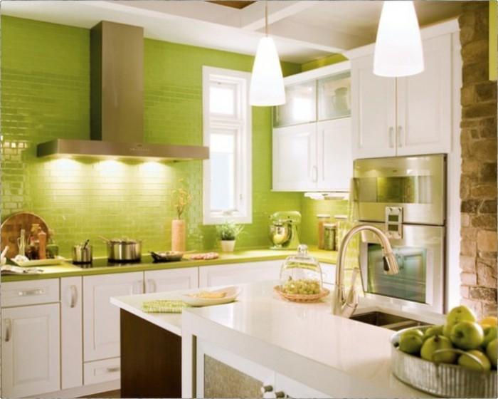 schöne-grüne-küche-gestalten