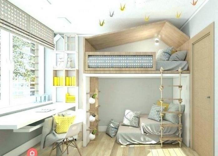 schlafzimmer ideen klein schlafzimmer einrichten klein hochbett schreibtisch wohnungsideen