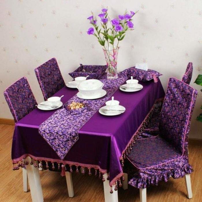 tischdeko-lila-eine-unserer-ideen-für-schön-aussehende-lila-dekoration