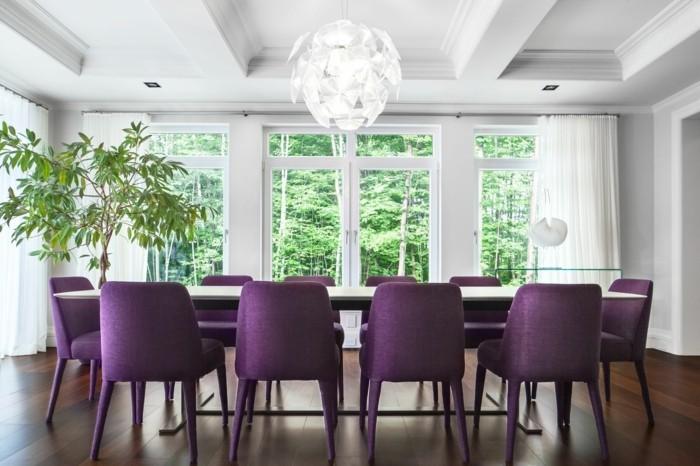 tischdeko-lila-noch-eine-ausgefallene-idee-für-lila-dekoration