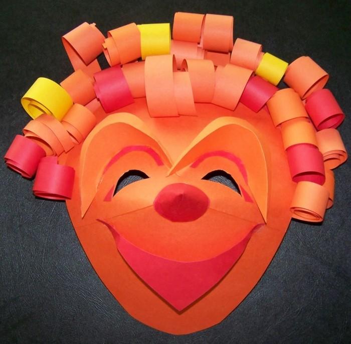 Bastelideen-Fasching-ein-lustiger-Clown