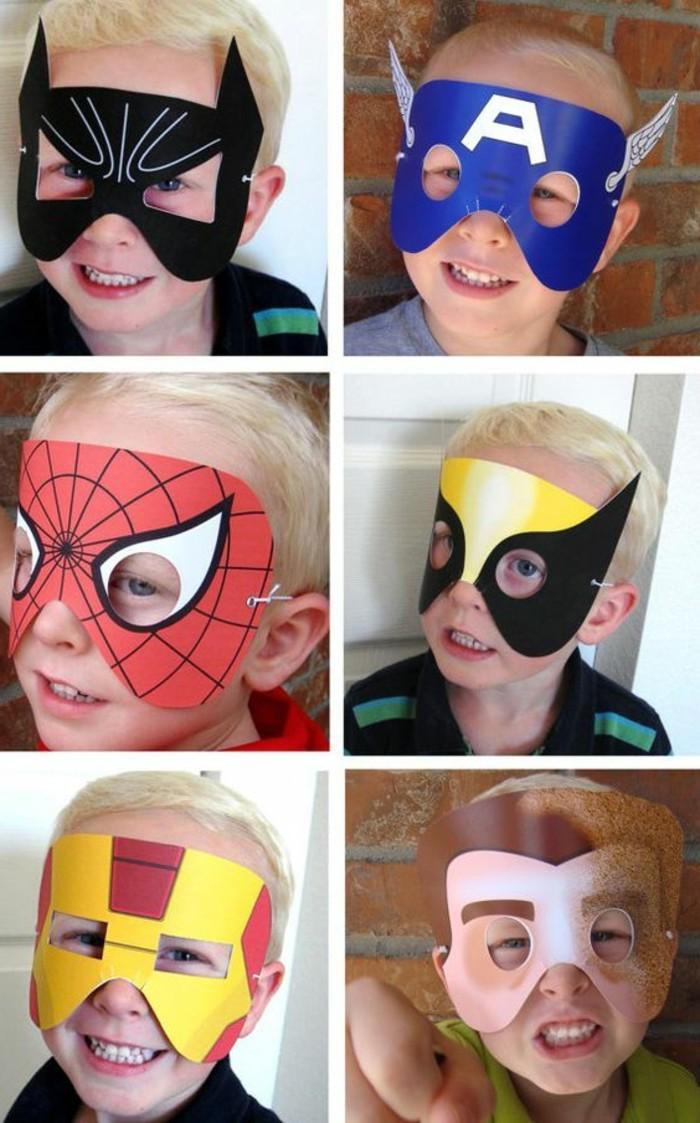 Basteln-für-Fasching-die-Superhelden