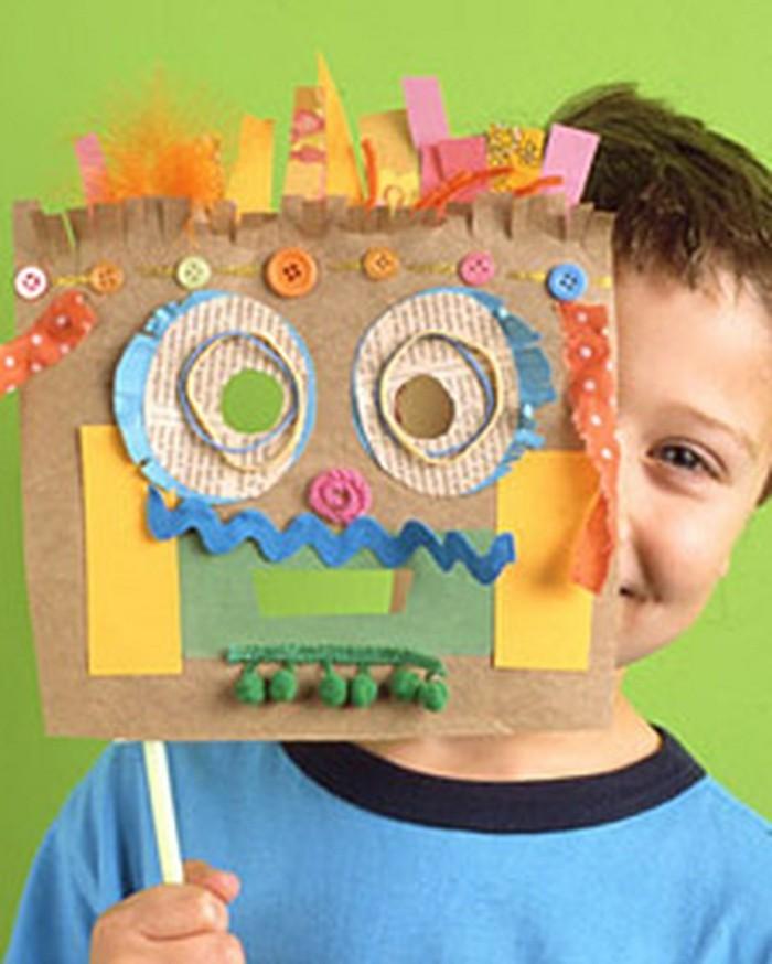 Basteln-zu-Karneval-lustige-Maske