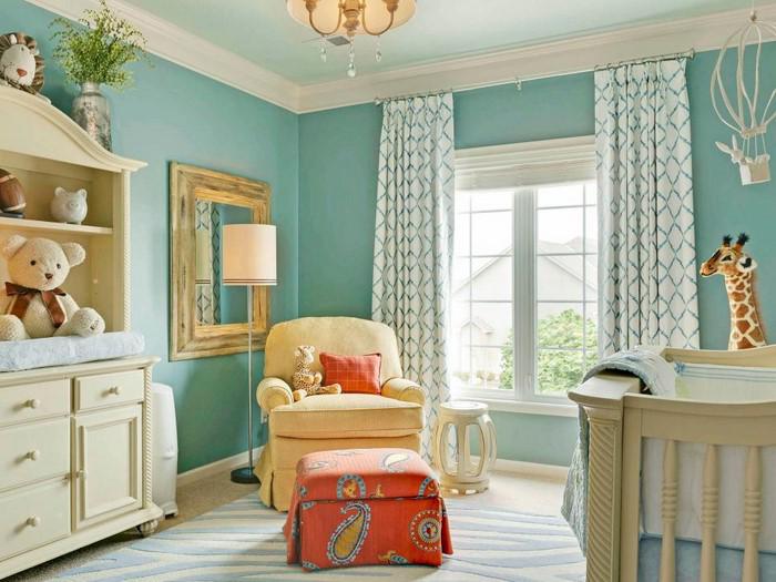frische farben fürs kinderzimmer: 70 wohnideen in blau!, Hause deko
