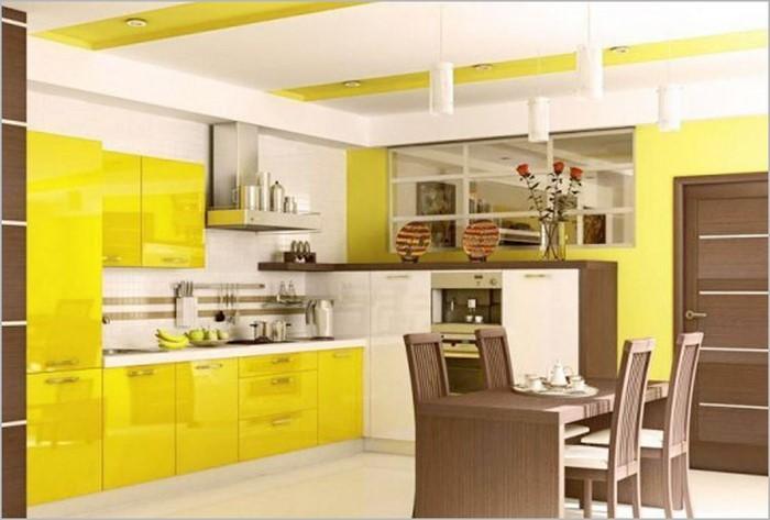 Küche einrichten in Gelb Eine kreative Ausstrahlung