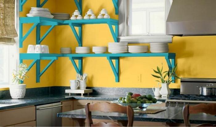 farben-fuer-die-kueche-gelb-eine-aussergewoehnliche-ausstattung