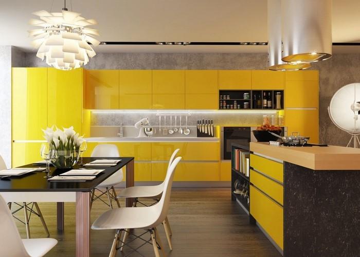 farben-fuer-die-kueche-gelb-eine-aussergewoehnliche-dekoration