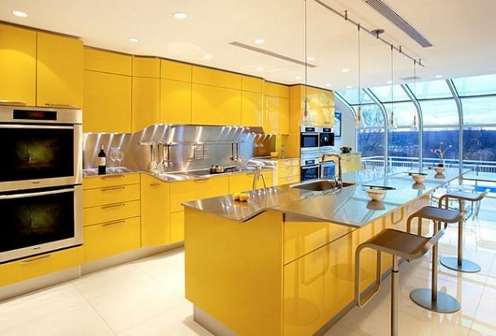 farben-fuer-die-kueche-gelb-eine-kreative-gestaltung