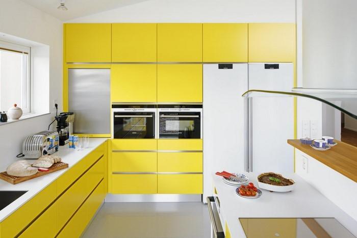 Warme Farben Fur Die Kuche : Küchengestaltung in Gelb Ein wunderschönes Interieur