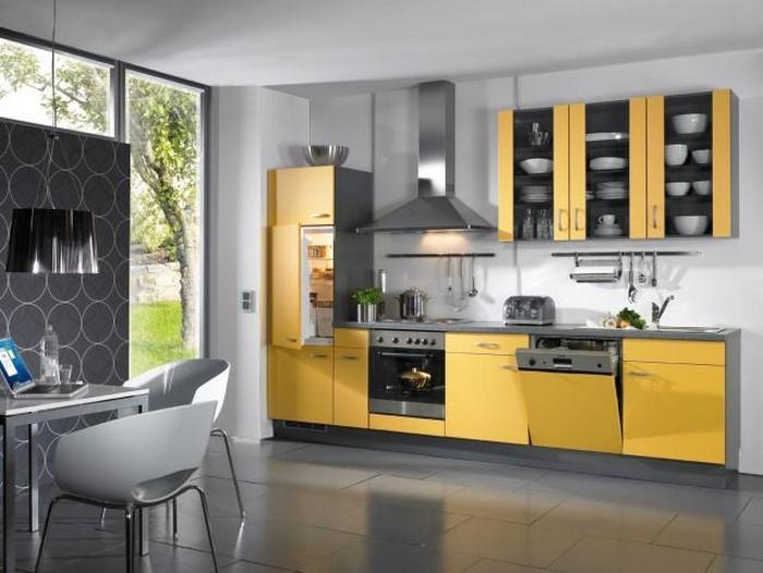 farben-fuer-die-kueche-gelb-eine-super-ausstrahlung