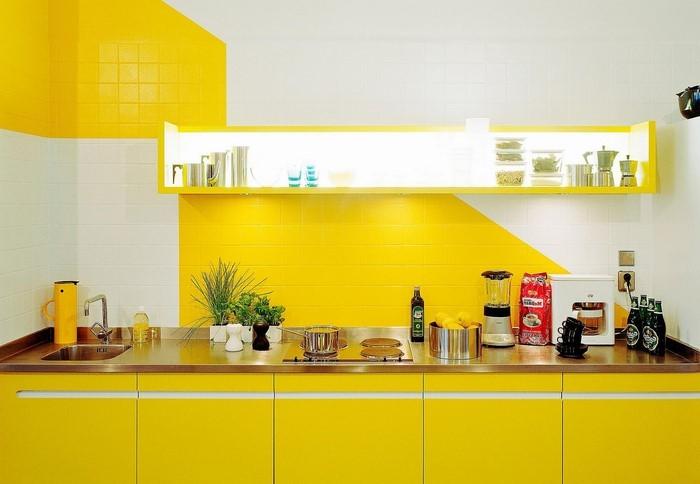 farben-fuer-die-kueche-gelb-eine-verblueffende-ausstattung