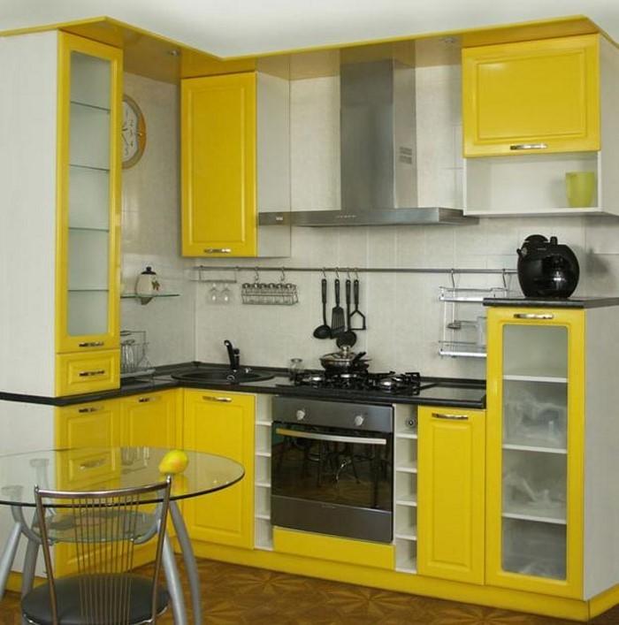 farben-fuer-die-kueche-gelb-eine-verblueffende-ausstrahlung