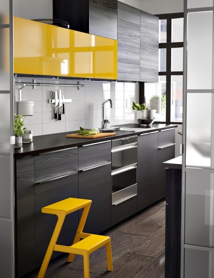 Frische Farben Für Die Küche: 58 Wohnideen In Gelb!   Dekoration ...