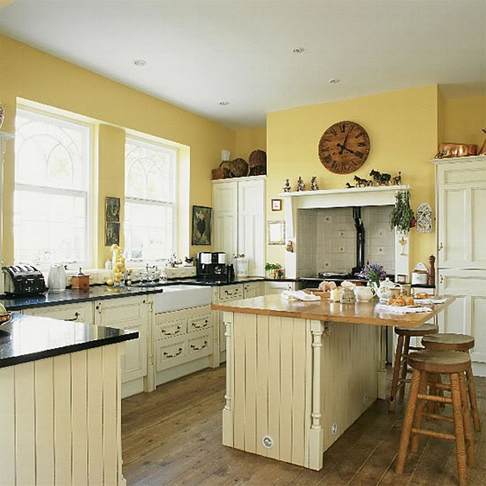 20 Modern Kitchens Decorated In Yellow And Green Colors: Frische Farben Für Die Küche: 58 Wohnideen In Gelb