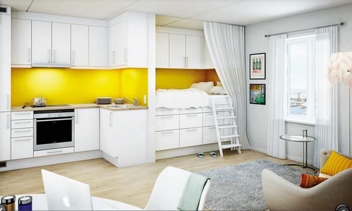 farben-fuer-die-kueche-gelb-eine-wunderschoene-gestaltung