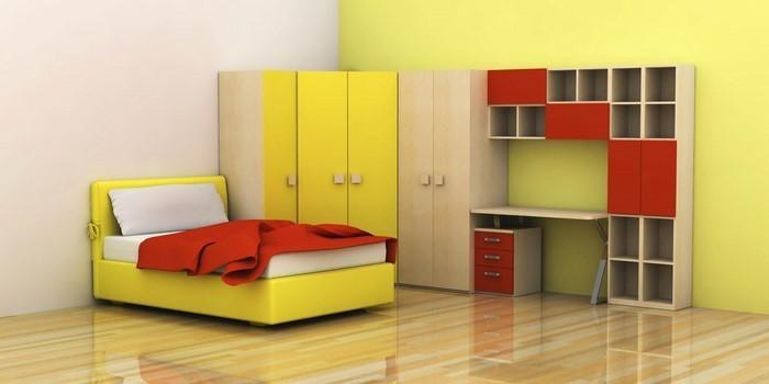 farben-fuers-kinderzimmer-rot-ein-cooles-design