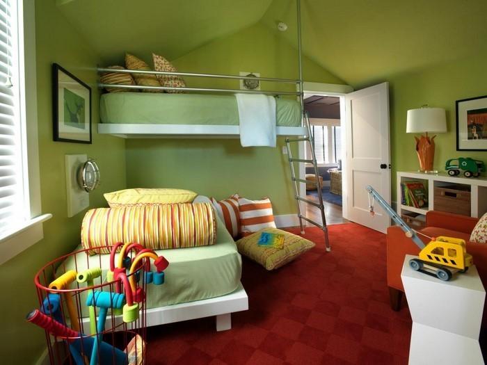 Kinderzimmer streichen in Rot: Eine tolle Ausstrahlung