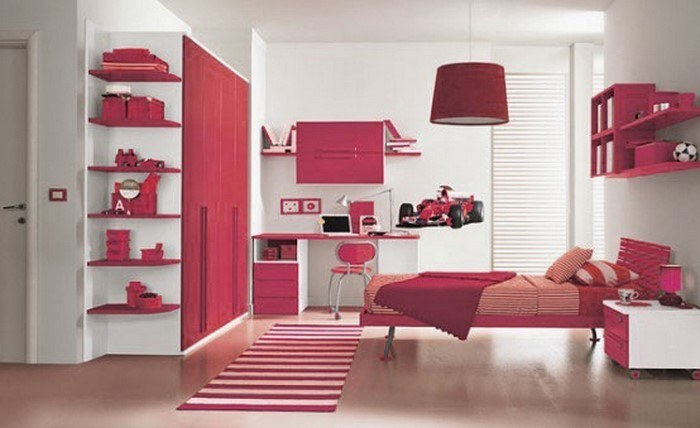 farben-fuers-kinderzimmer-rot-ein-modernes-interieur