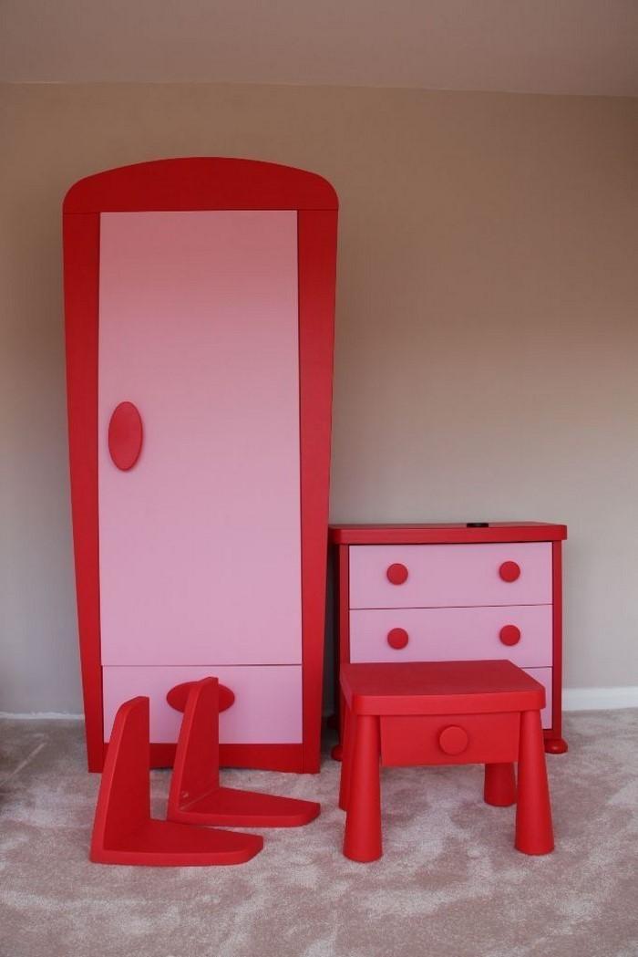 Frische Farben fürs Kinderzimmer: 70 Wohnideen in Rot! | {Kinderzimmer ausstattung 32}