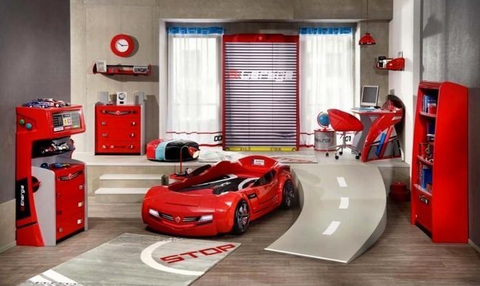 frische farben fürs kinderzimmer: 70 wohnideen in rot! - Kinderzimmer Streichen Rot