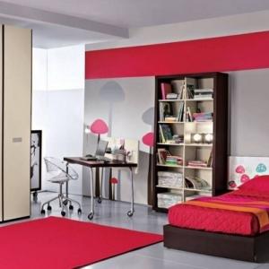 Frische Farben fürs Kinderzimmer: 69 Wohnideen in Rot!