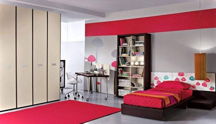 farben-fuers-kinderzimmer-rot-eine-coole-dekoration