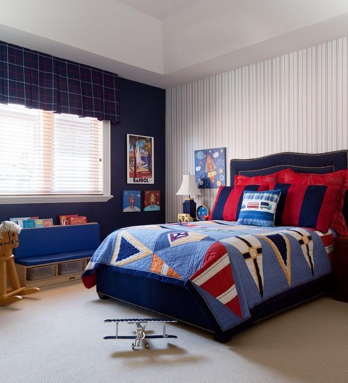 farben-fuers-kinderzimmer-rot-eine-kreative-dekoration