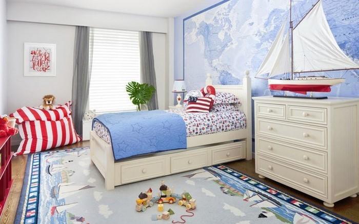 Kinderzimmer Blau Rot wei rot kinderbett wohnideen fr kinderzimmer universal design Farben Fuers Kinderzimmer Rot Eine Kreative Entscheidung Copy