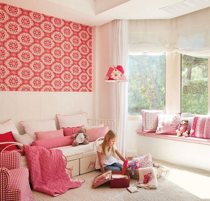 frische farben f rs kinderzimmer 70 wohnideen in rot. Black Bedroom Furniture Sets. Home Design Ideas