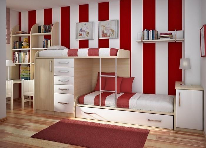 farben-fuers-kinderzimmer-rot-eine-moderne-dekoration