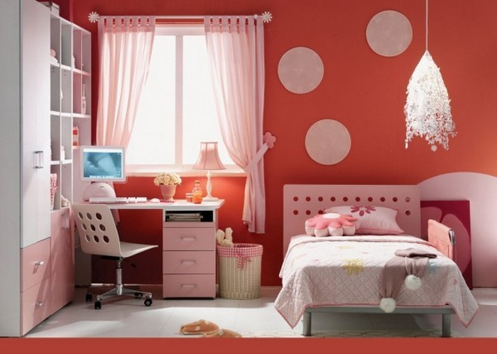 frische farben f rs kinderzimmer 70 wohnideen in rot. Black Bedroom Furniture Sets. Home Design Ideas