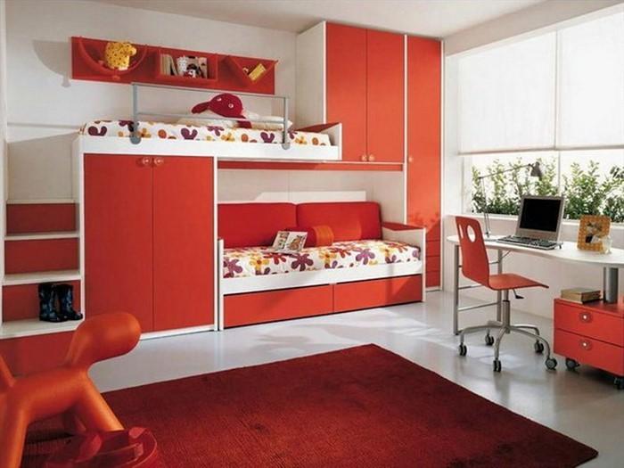 farben-fuers-kinderzimmer-rot-eine-verblueffende-ausstattung