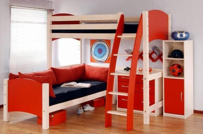 farben-fuers-kinderzimmer-rot-eine-verblueffende-gestaltung
