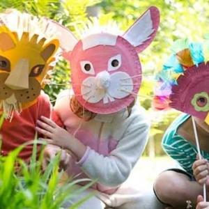 50 Vorschläge für Basteln für Fasching mit Kindern
