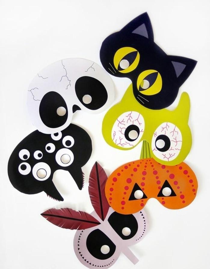 Kindermasken-basteln-süß-und-gefährlich