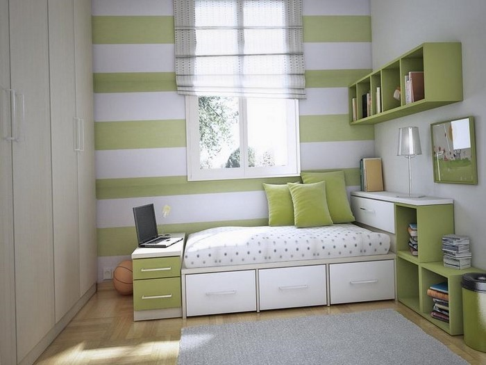 77 verbl ffende kinderzimmer ideen mit gr n. Black Bedroom Furniture Sets. Home Design Ideas
