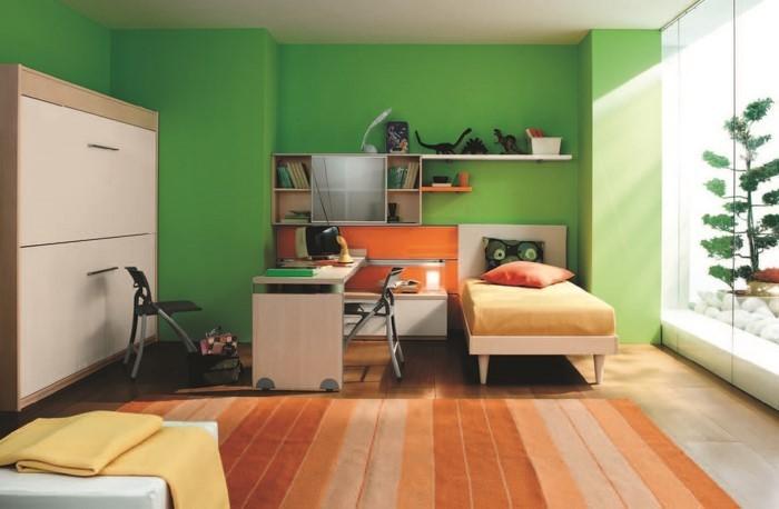 kinderzimmer-ideen-gruen-ein-verblueffendes-interieur