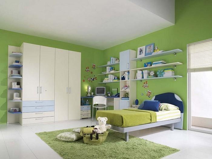 Kinderzimmer Wandfarbe Grun : Kinderzimmer Mädchen in Grün Eine außergewöhnliche Ausstattung
