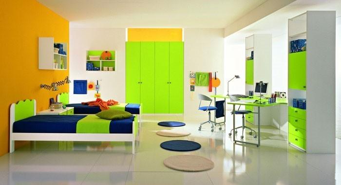 kinderzimmer-ideen-gruen-eine-coole-dekoration