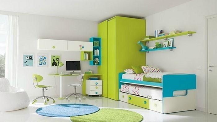 kinderzimmer-ideen-gruen-eine-kreative-dekoration
