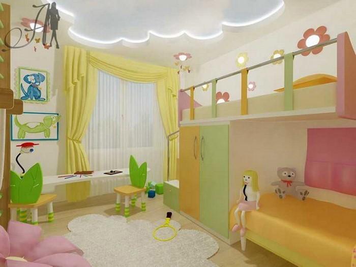 kinderzimmer-ideen-gruen-eine-verblueffende-dekoration