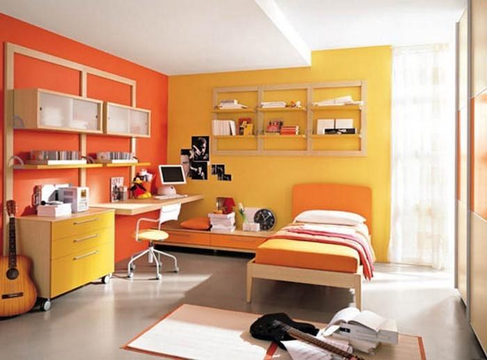 kinderzimmer-orange-ein-aussergewoehnliches-design