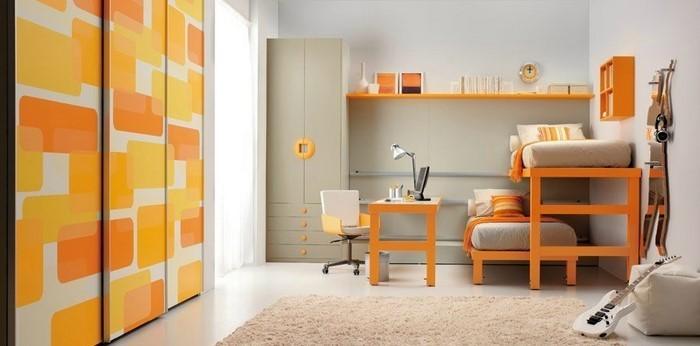 kinderzimmer-orange-ein-aussergewoehnliches-interieur