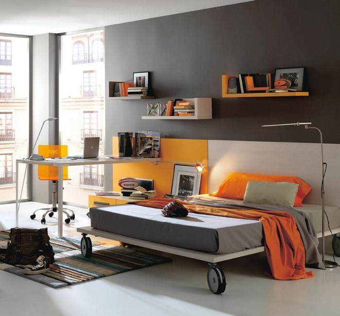 kinderzimmer-orange-ein-kreatives-design