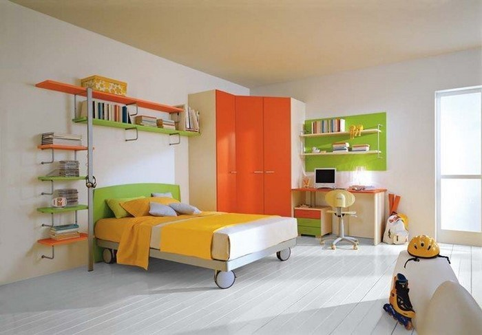 kinderzimmer-orange-ein-super-interieur