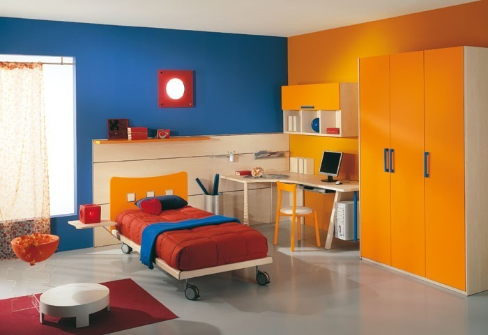 kinderzimmer-orange-ein-tolles-interieur