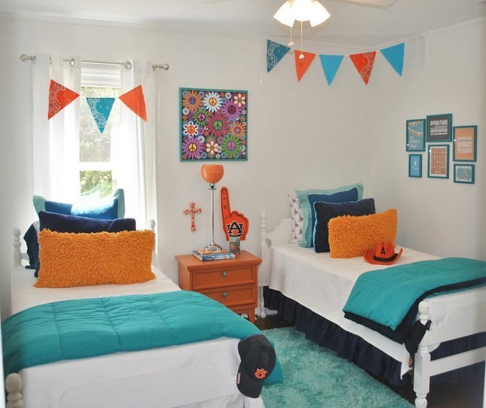 kinderzimmer-orange-ein-verblueffendes-interieur