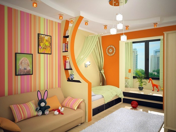 kinderzimmer-orange-ein-wunderschoenes-interieur