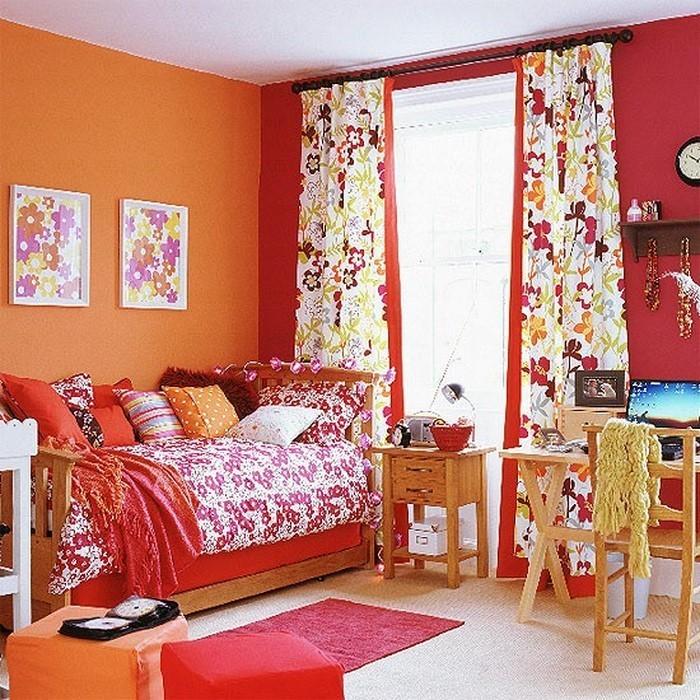 Kinderzimmer Farblig Gestalten Das Frohliche Orange