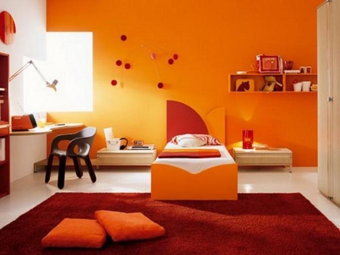 kinderzimmer-orange-eine-auffaellige-gestaltung
